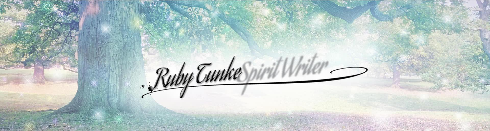 Ruby Tunke Spirit Writer